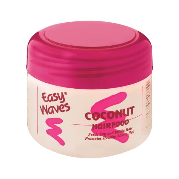 a tub of Easy Wave coconut hair food 250g